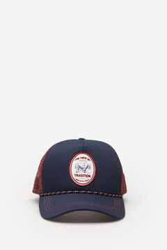 Springfield Cap Trucker Patch blau