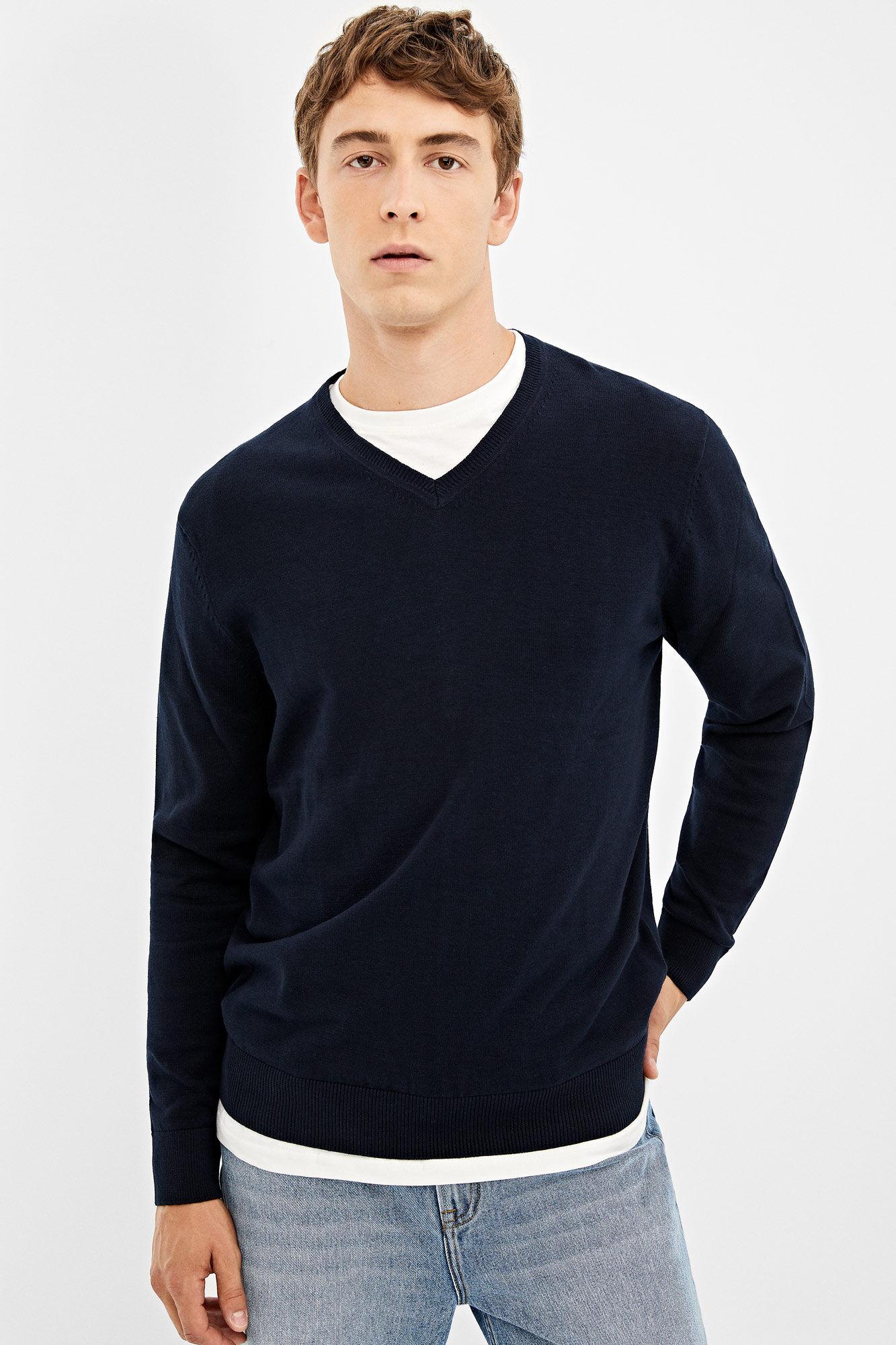 Pullover V Ausschnitt | Pullover | Springfield Man & Woman