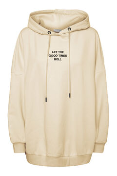 Springfield Oversize hooded sweatshirt white