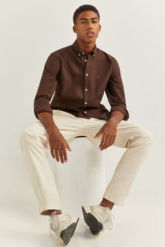 Springfield OXFORD SHIRT brown