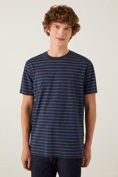 Springfield Camiseta rayas azul