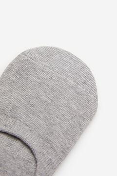 Springfield Calcetín invisible básico gris