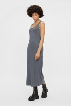 Springfield Long dress bluish