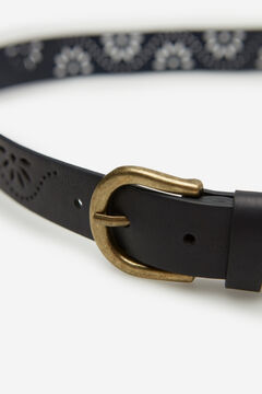Springfield Cutwork belt navy mix