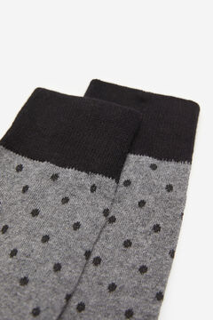 Springfield Polka-dot socks gray