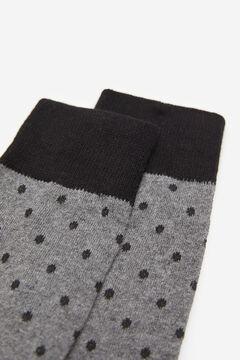 Springfield Pöttyös zokni szürke