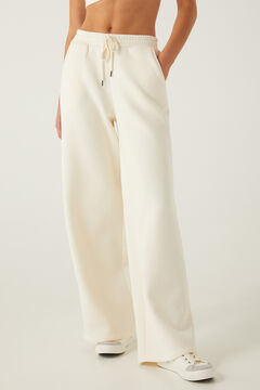 Springfield Wide jogging bottoms  white