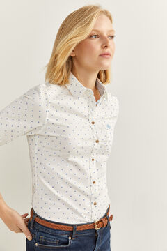 Springfield Organic Cotton Oxford Shirt  natural