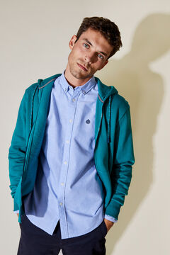 Springfield ESSENTIAL HOODED SWEATSHIRT blue