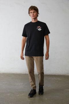 Springfield Mickey T-shirt black