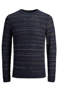Springfield Sustainable textured jumper bluish