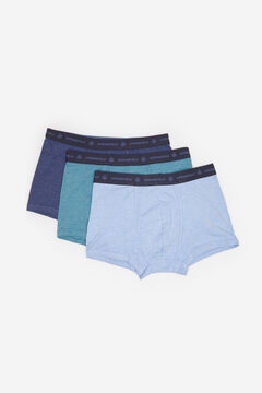 Springfield 3-PACK ESSENTIALS BOXERS deep red