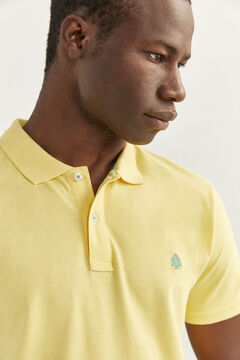 Springfield Essential slim fit polo shirt golden