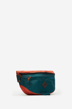 Springfield MULTICOLOURED NYLON BUMBAG dark green