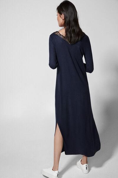 Springfield - Lace collar midi dress - 4