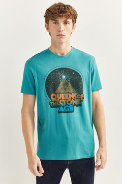 Springfield QUEENS OF THE STONE AGE T-SHIRT blue