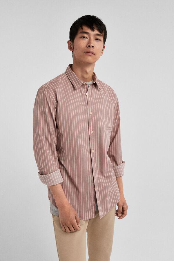 0028efb235 Springfield Camisa de rayas rojo