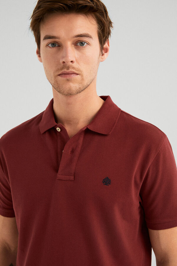 ba5749fc Springfield Essential polo shirt deep red