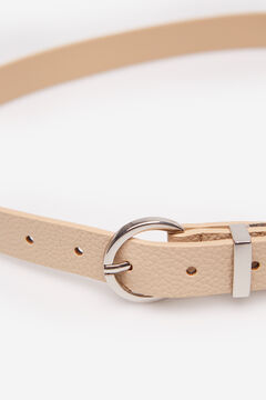 Springfield Essential metallic belt camel