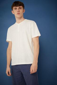 Springfield T-shirt linho cru