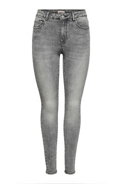 Springfield Mid rise cigarette fit jeans gray