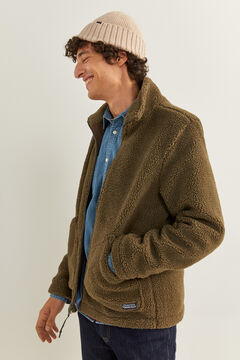 Springfield SHEEPSKIN JACKET dark gray
