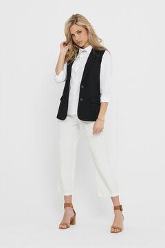 Springfield Blazer waistcoat black