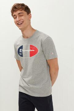 Springfield Camiseta logo central plomo mezcla