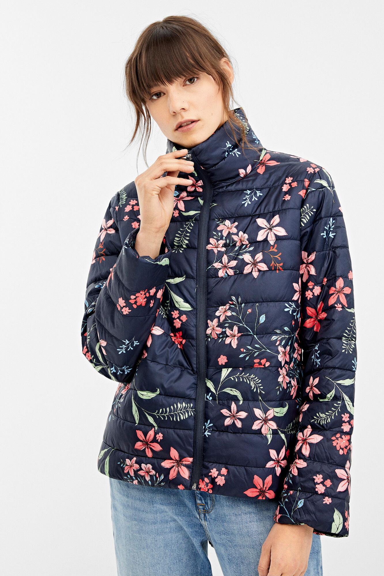 Printed padded jacket   Jackets   Springfield Man & Woman