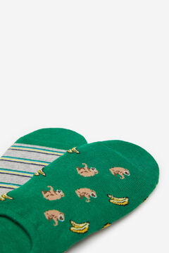 Springfield Pack monkey socks dark green