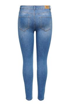 Springfield Mid rise cigarette fit jeans bluish
