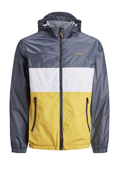 Springfield High neck technical jacket banana