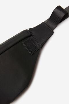 Springfield Black nylon bumbag black