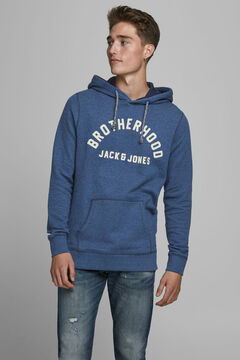 Springfield Sustainable kangaroo sweatshirt navy