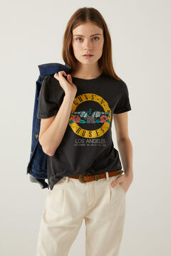 Springfield Guns N' Roses t-shirt gray