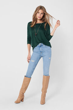 Springfield 3/4-length sleeve blouse green