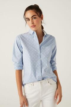 Springfield Hemd Oxford Bio-Baumwolle marineblau