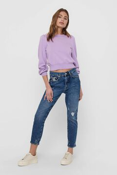 Springfield Knit jumper purple
