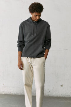 Springfield Essential boxy sweatshirt grey