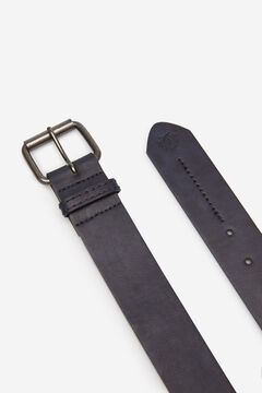 Springfield FAUX LEATHER BELT WITH STITCHING bluish