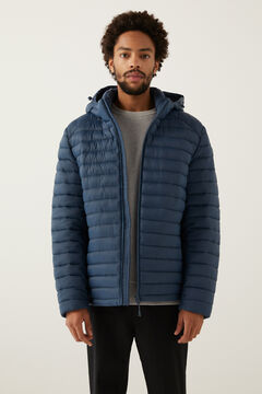 Springfield QUILTED HOODED JACKET mallow