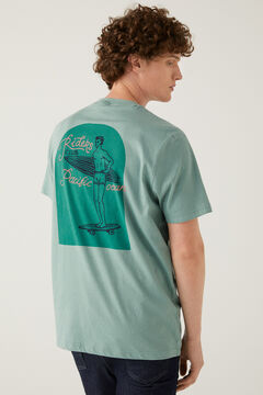 Springfield Surf t-shirt green