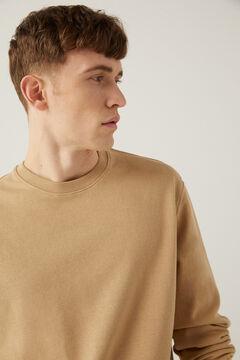 Springfield Essential crew neck sweatshirt camel