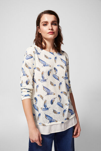 Springfield - Feathers t-shirt - 3
