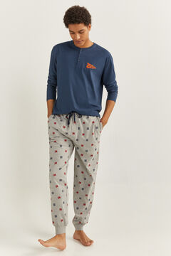 Springfield HARRY POTTER PYJAMAS blue