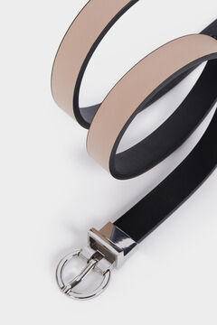 Springfield Cinturón reversible negro