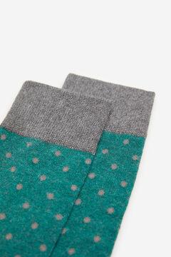 Springfield Pöttyös zokni zöld