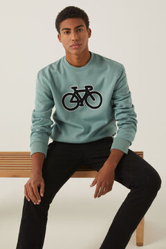 Springfield Bike sweatshirt green