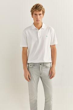 Springfield Jeans skinny gris lavado claro gris
