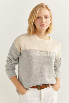 "Springfield ""Smile"" Jumper grey"